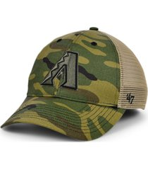 '47 brand arizona diamondbacks camo branson mvp cap