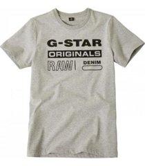 g-star grijs t-shirt sp10086
