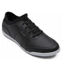 tênis kolosh sapatênis feminino calce fácil elástico c1314 preto