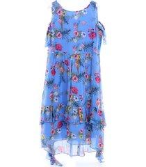 1a10qsy3gn korte jurk met patroon