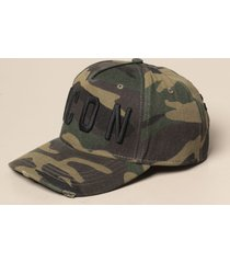 dsquared2 hat dsquared2 camouflage baseball cap with logo