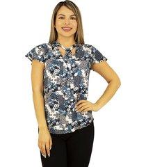 camiseta estampada para dama - chalis