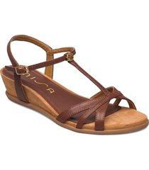 binar_21_cre shoes summer shoes flat sandals brun unisa