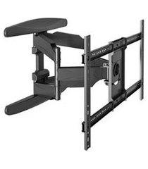 suporte de parede articulado vesa 600 para tv s 32 a 75 - elg pedestais - a02v6n