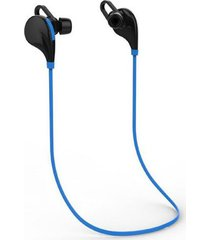 audífonos bluetooth manos, deportes de inalámbrica audifonos bluetooth manos libres  v4.1 stereo headset comando de voz de doble modo de espera para el iphone 6 6 plus samsung xiaomi htc movil (blueblack)