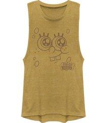 fifth sun spongebob squarepants bob esponja face festival muscle tank top