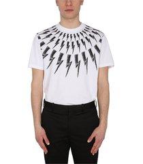 'scribble fair isle thunderbolt' t-shirt