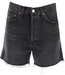 agolde dee denim shorts