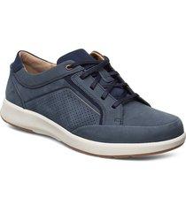 un trail form låga sneakers blå clarks