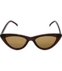óculos de sol khatto cat bruninha feminina