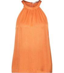 aaiko blouse saffia vis oranje