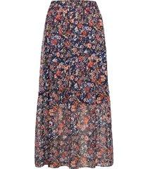 valeriesz skirt lång kjol multi/mönstrad saint tropez