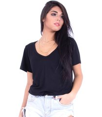blusa up side wear básica preta