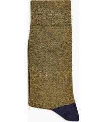 mens multi black and gold twist socks