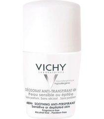 desodorante 48h vichy roll-on para peles muito sensíveis ou depiladas 50ml