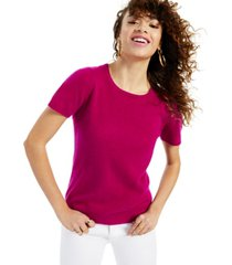 charter club cashmere crewneck sweater, created for macy's