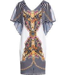 abito con maniche in chiffon (bianco) - bodyflirt boutique