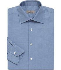 micro print cotton shirt
