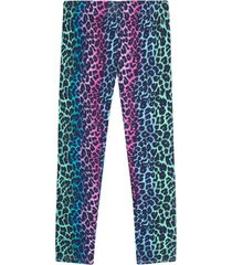leggings deportivo animal print color rosado, talla xs