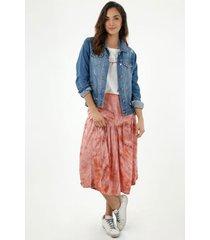 falda medio para mujer topmark, faldas plano  entero