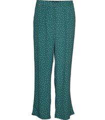 valérie trousers wijde broek groen morris lady