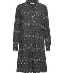 célia dress kort klänning grå odd molly