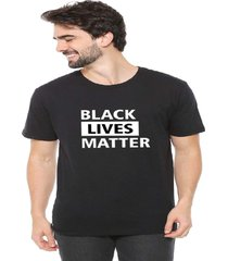 camiseta eco canyon black lives matter preto