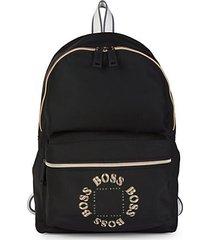 pixel logo backpack