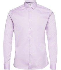super slim fit business dobby shirt overhemd business paars eton
