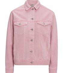 jeansjacka vmkatrina ls loose color denim jacket