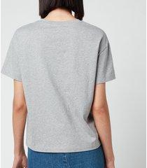 a.p.c. women's emma t-shirt - grey - l