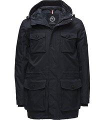 cargo jacket gevoerd jack zwart lindbergh