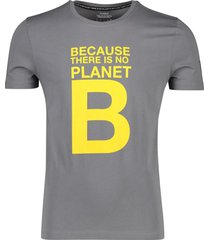 ecoalf t-shirt 'natal great b' donkergrijs
