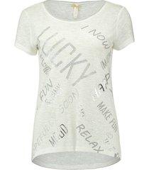 t-shirt wish gebroken wit