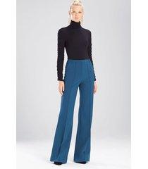 bistretch pants, women's, blue, size 2, josie natori