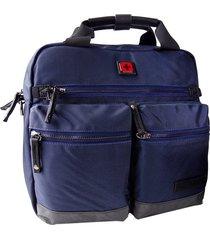 maletin para tablet swissbrand melbourne-azul