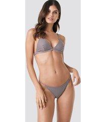 na-kd swimwear thin strap bikini briefs - multicolor