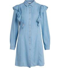 klänning violesia visky l/s denim dress