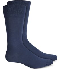 perry ellis men's socks, microluxe flat knit men's socks