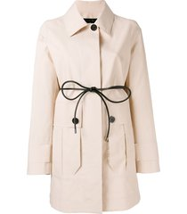 moncler galette coat - pink