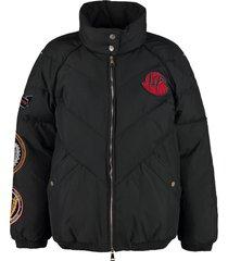 moncler minho full zip padded jacket