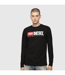 camiseta para hombre t-just-ls-division diesel