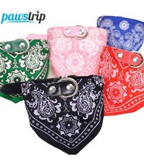 dog scarf collar adjustable puppy bandana quality pet cat tie collar 1pc scarf