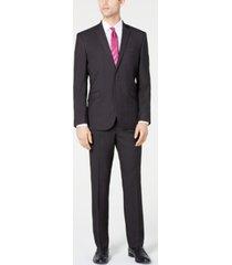 kenneth cole reaction men's slim-fit ready flex stretch micro-dot suit