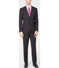 kenneth cole reaction men's slim-fit ready flex stretch micro-dot suit