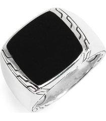 women's john hardy classic chain signet ring