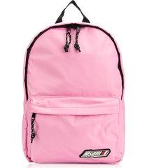 msgm msgm signature nylon backpack