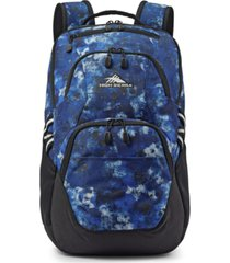 high sierra printed swoop backpack