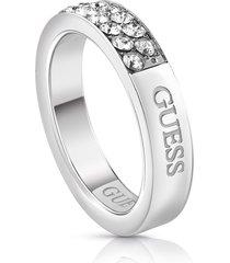 anillo guess embrance/ubr78019-56 - plateado