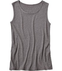 t-shirt zonder mouwen, antraciet-gemêleerd xl